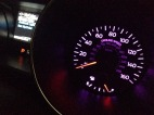 I can even change the speedometer lights to purple!